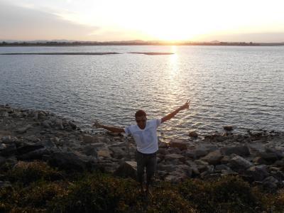 2011年8月タイ-スリランカ旅行スリランカ前半9日ポロンナルワ貯水池