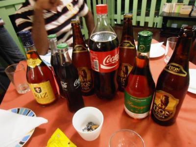 2011年8月タイ-スリランカ旅行スリランカ後半12日コートマーレリゾート宴会開始