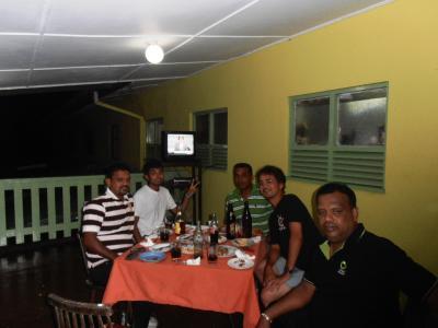 2011年8月タイ-スリランカ旅行スリランカ後半12日コートマーレリゾートホテル経営陣と
