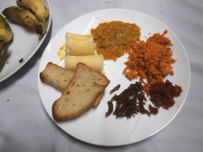 2011年8月タイ-スリランカ旅行スリランカ後半13日コートマーレリゾート朝食