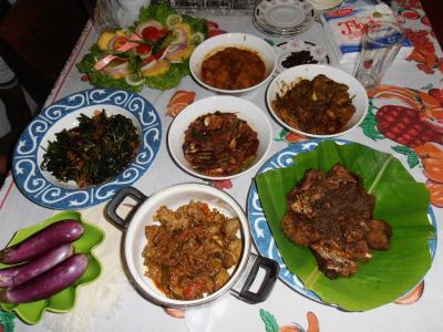 2011年8月タイ-スリランカ旅行スリランカ後半13日クルネーガラシェフ家庭料理