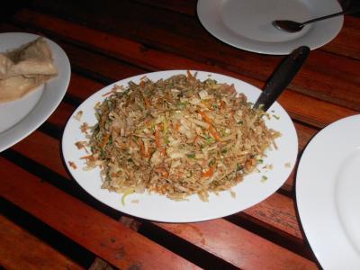 2011年8月タイ-スリランカ旅行スリランカ後半14日ポトハラのシェフがろコットゥロティ作る3