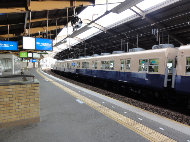 阪神沿線。