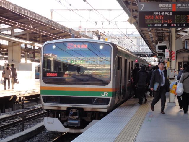 東海道線(ACTY)。