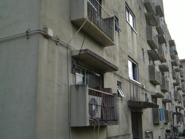 市営住宅。