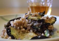 乾燥茄子と豚ひき肉の味噌炒め_20110523 7