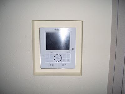 電気工事 インターホン取付後 室内