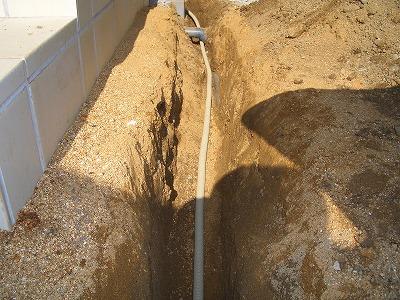 電気工事 インターホン配管1