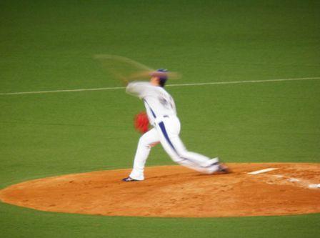 2011年9月25日 チェン投手