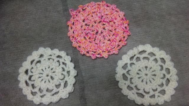 最初の編み物2