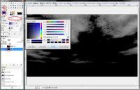 GIMP色付け