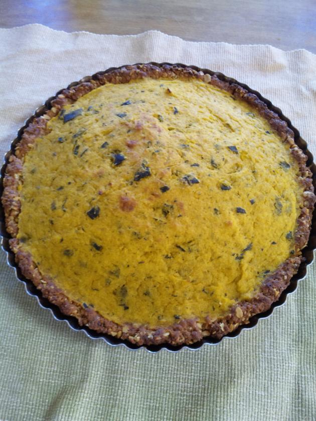 かぼちゃのパイ