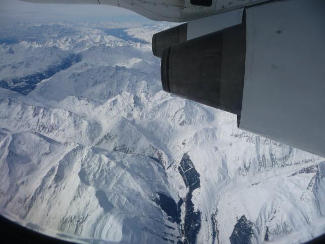 2010年3月17日(水)スイス上空 (1)