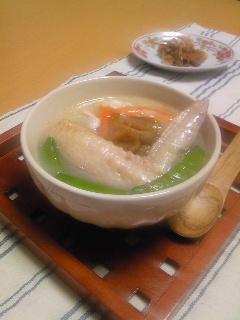 コラーゲンたっぷり中華粥