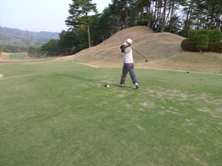 Sさんとゴルフ