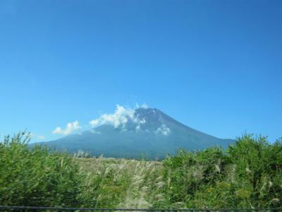 東富士五湖道路からの富士山