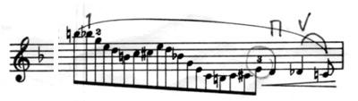 0melodyin F cadenza