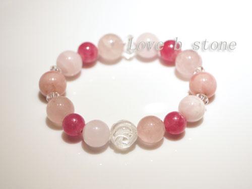 インカローズのピンク系ブレス2
