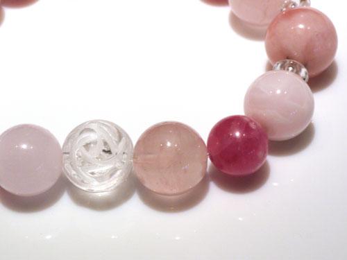 インカローズのピンク系ブレス3