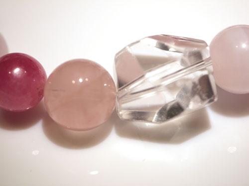 インカローズのピンク系ブレス6