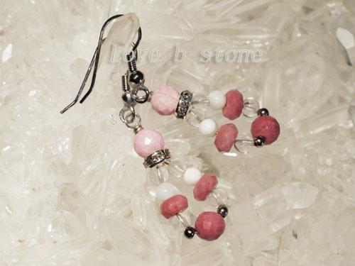 ピンクのピアス画像5