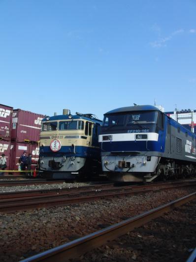 隅田川駅貨物フェスティバル2010