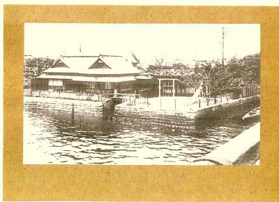 昔の白鬚橋