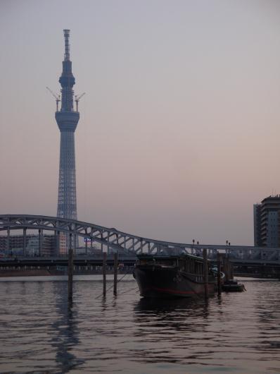 白鬚橋 東京スカイツリー