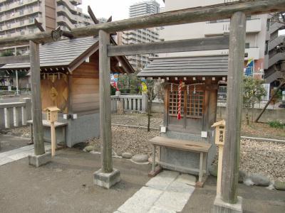 胡録神社の境内にある刀塚