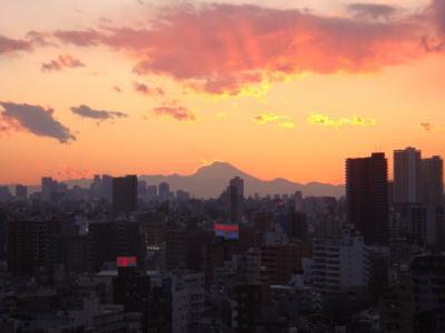 南千住から富士山2
