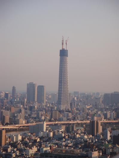 南千住から東京スカイツリー