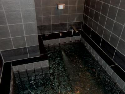 本館『ほていや』の新しい男性用浴室