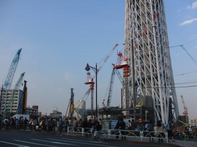 東武橋から東京スカイツリー