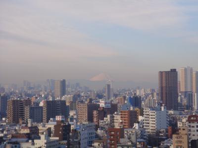 南千住から富士山1