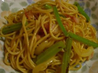 若ごぼうのスパゲッティ