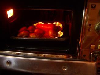 オーブン230度 にんじん・ジャガイモ