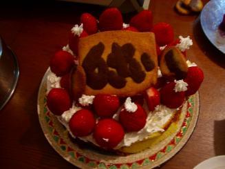 6歳ケーキ