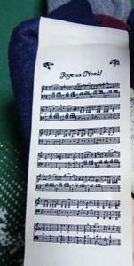 キャロル隊楽譜