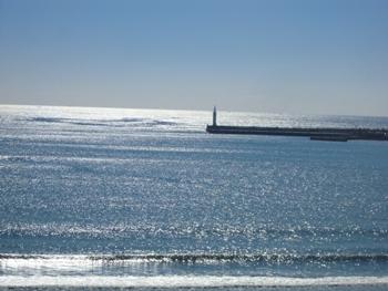 初冬の海ー3