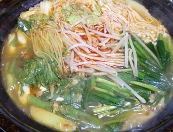 キムチ鍋ー3