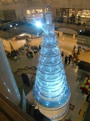 スワロフスキーのクリスマスツリー2