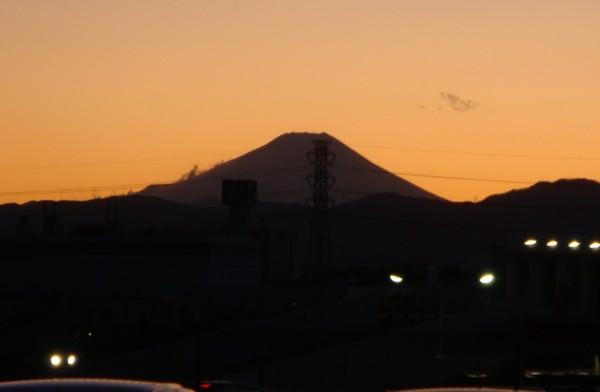 富士山がキレイでした。