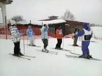 スキー最終日