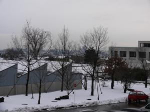雪の山形3月10日