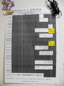 レポート作成指導期間(2010前期)