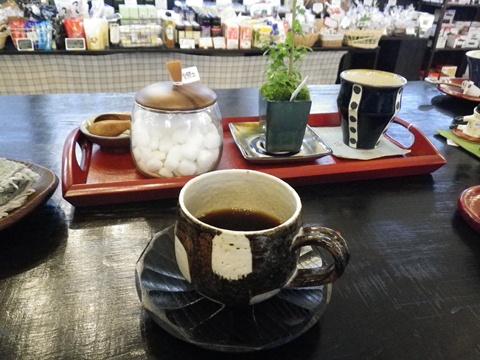 憩いのコーヒー