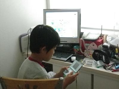 パソコンとDS