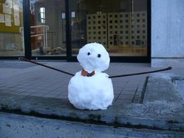 雪だるま12月16日