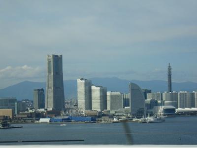 横浜に別れを告げて