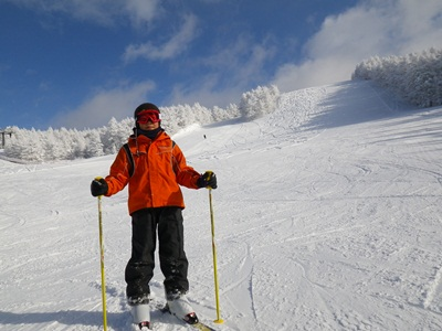 スキーに行こう